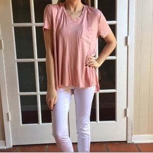 Tops - 🆕Re-posh pink bamboo top, NEW.